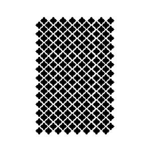Stencil G Cm.21X29,7  Texture Rhombus
