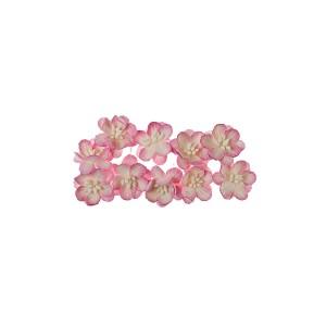 Cherry Blossom, 10 Pcs Red-White
