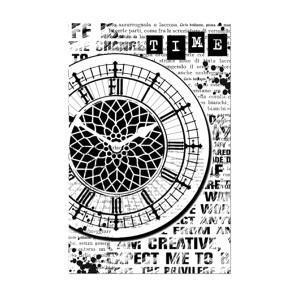 Kummist Templid 7X11Cm. - Clock