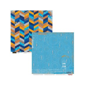 Scrapbookingu paber 30x30 cm- 190 gsm- Basik's New Adventure -The Lighthouse
