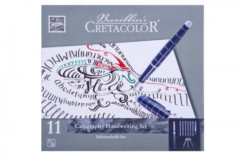 Kalligraafia komplekt 11 osa Cretacolor