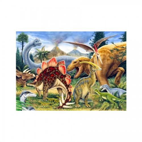 Laste Maaliikomplekt Dinosaurs