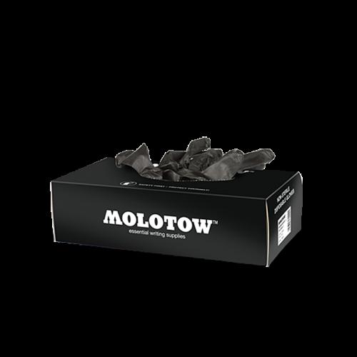 MOLOTOW™ Nitrile Gloves Box, M mustad kindad