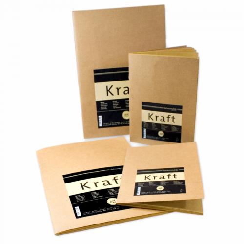 "Eskiisiplokk""Kraft Paper"", 120g/m2, A5 20 lh"
