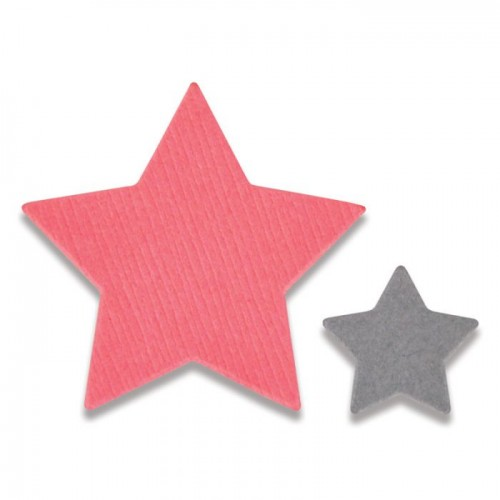Framelits 2tk.Tiny Stars
