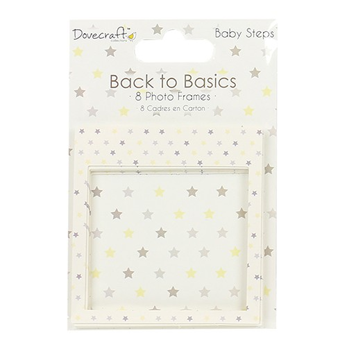 Dovecraft Back to Basics Baby Steps Photo Frames