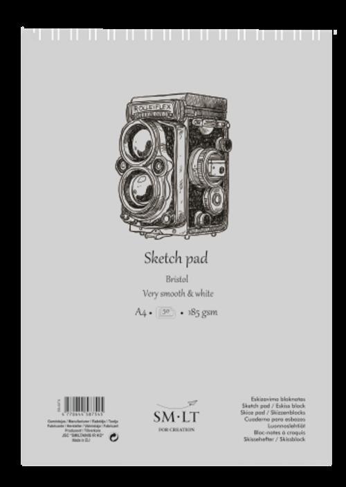 Sketch pads Authentic Bristol. A5
