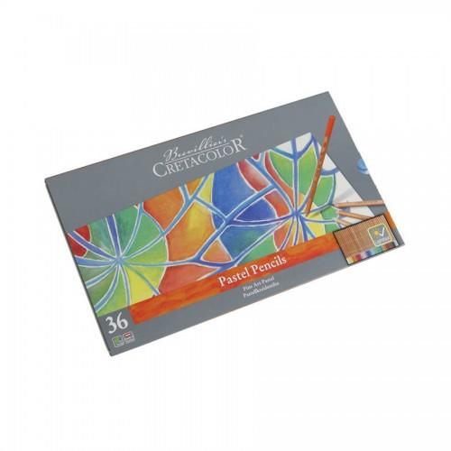 Pastellpliatsite Komplekt, 36 Värvi, Cretacolor