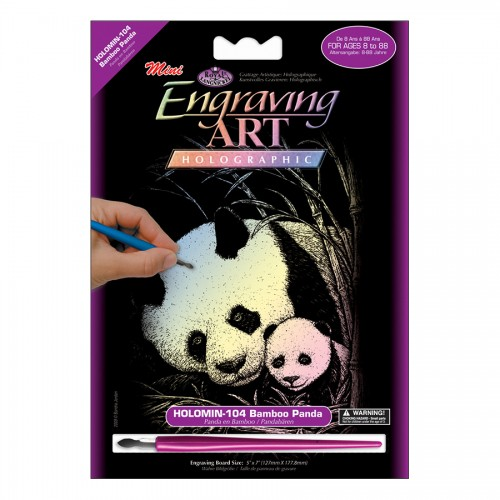Laste Gravüürikomplekt Panda