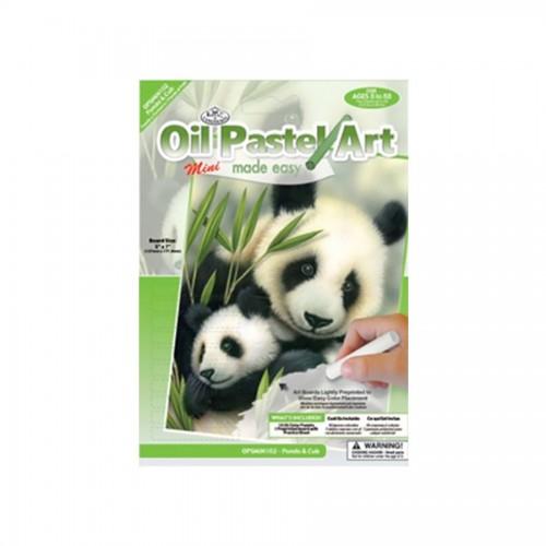 Laste Maaliikomplekt Panda