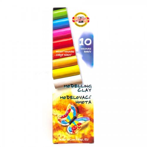 Plastiliin 10 Värvi  Koh-I-Noor