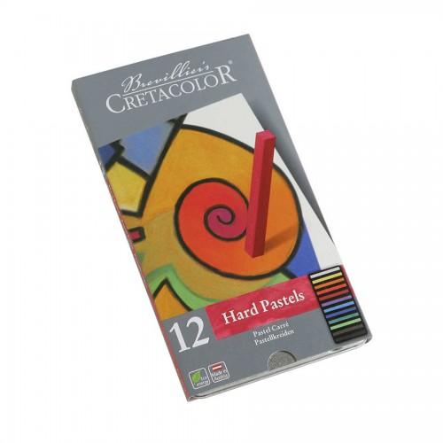 Pastelli  Komplekt/Tugev 12Tk  Met.Karbis, Cretacolor