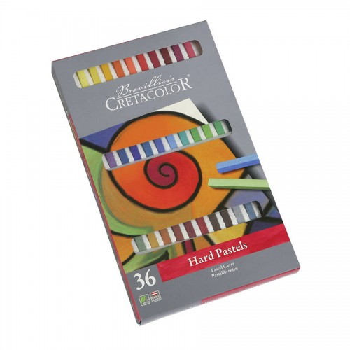 Pastelli  Komplekt/Tugev 36Tk  Pappkarbis, Cretacolor
