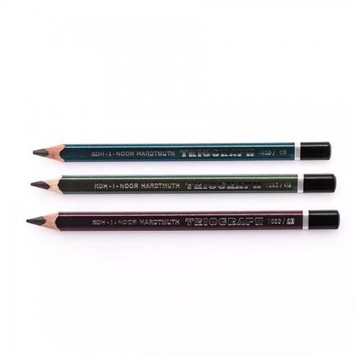 """Harilikud pliiatsid """"TRIOGRAPH"""",  KOH-I-NOOR"""