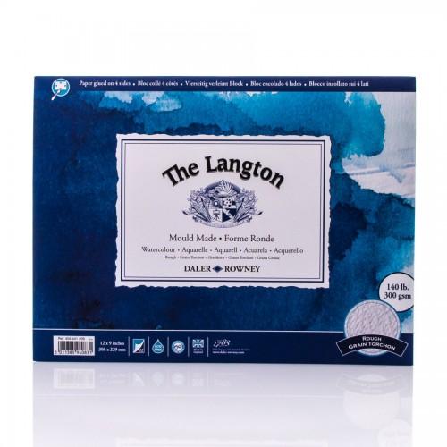 Akvarellplokk Langton 300Gsm 30.5X22.8, Daler-Rowney