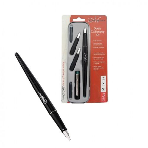 Scribe Calligraphy 3 Nib Set - Left Hand