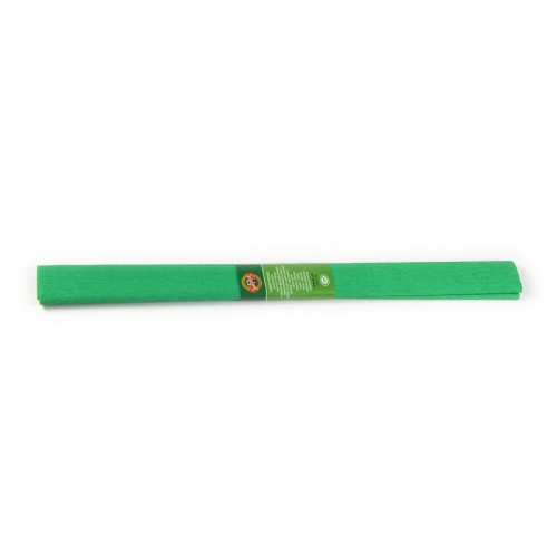 Krepppaber 2000X500 Mm Roheline Keskmine