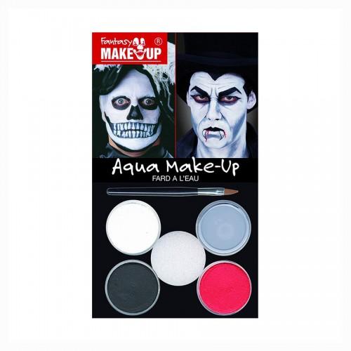 HALLOWEEN Make UP, Näovärvid  4Tk  Dracula