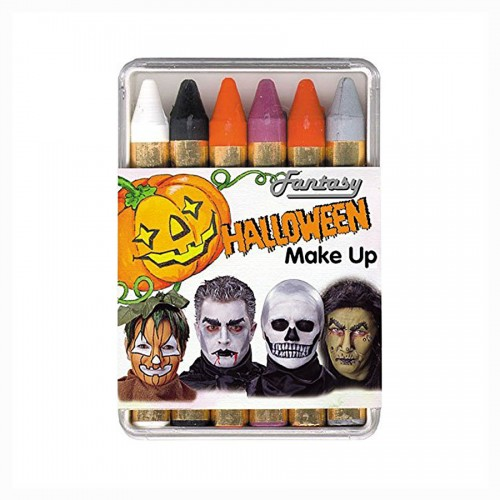 Make Up kriitide komplekt 6tk Halloween