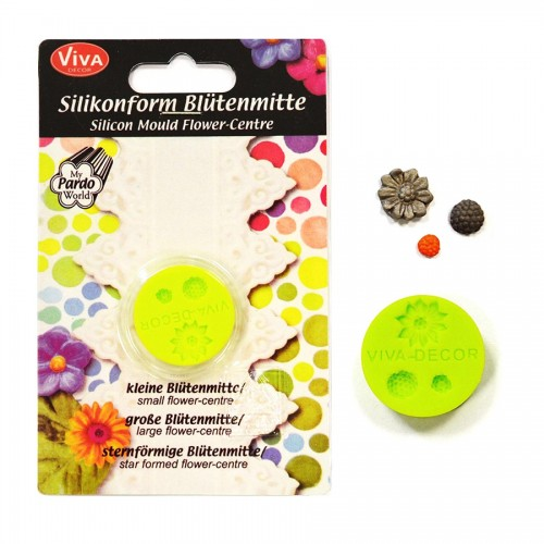 Silikoonvormid Lillesüdamikud