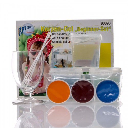 Geelküünla Valmistamise Komplekt Klaasiga