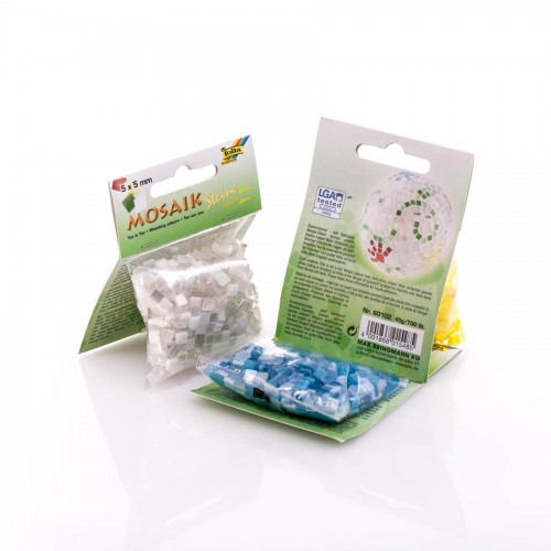 Mosaiigi k-t Ton in ton mix  5x5mm,700 tk