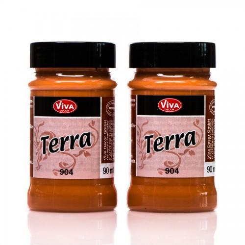 "Dekoratiivvärvid, Terra"" Terracotta Effect Colour - Italian"
