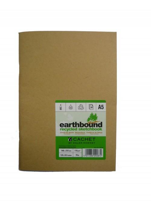 "Eskiisiplokk ""Earthbound"" A5 ,30lh,110g/m  Daler-Rowney"