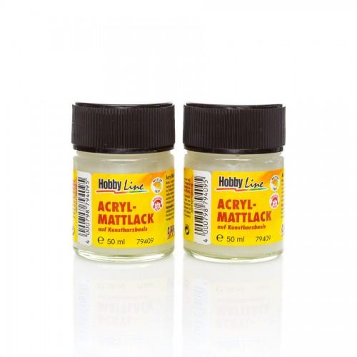 Hobby Line Sünteetilise Vaigu Baasil Lakk,Matt,50Ml