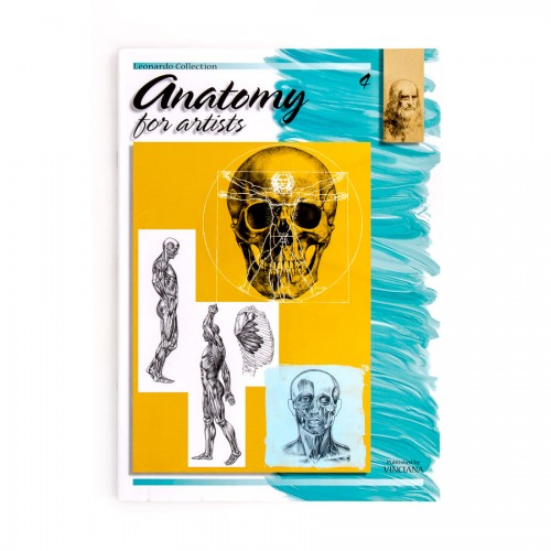 """Raamatud """"Leonardo Kolektsioon"""", Nr.4 """"Anatoomia"""""""