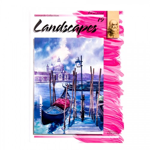 """Raamatud """"Leonardo Kolektsioon"""", Nr.19 """"Maastikud"""""""