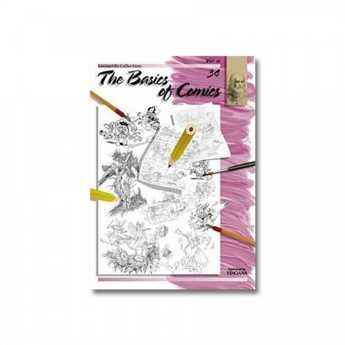 """Raamatud """"Leonardo Kolektsioon"""", Nr.34 """"Koomiksite Joonistamise Alused"""" 2 Osa"""