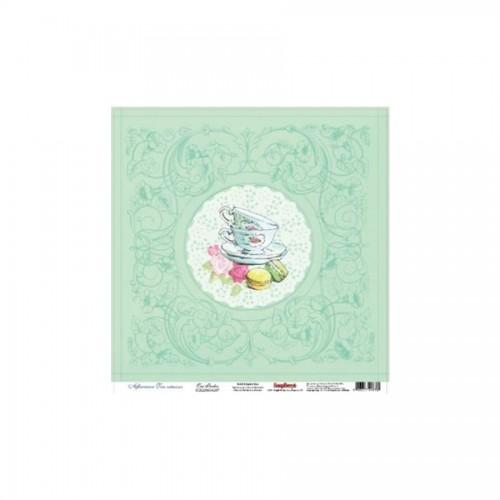 Scrapbookingu paber 30x30 cm- 180Gsm Afternoon Tea