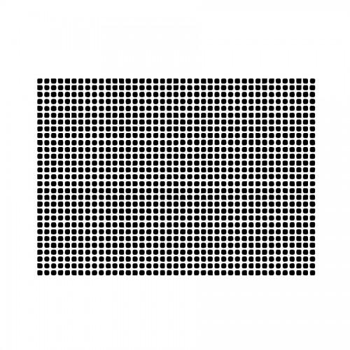 Stencil D Cm20X15  Texture Square