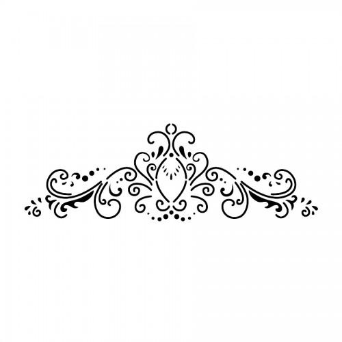 Šabloon B Cm38X15 Klassikaline Kaunistus