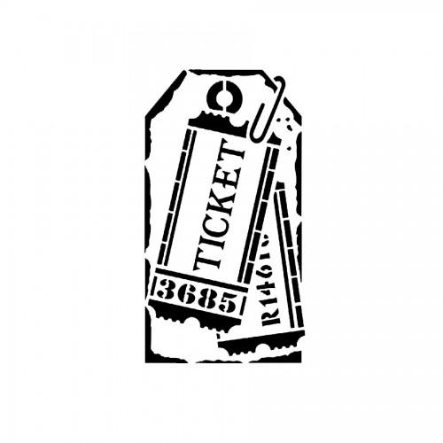 "Sabloon A5 ""Tag Tickets"""