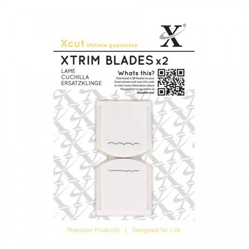 Lisa vahetustera (2tk) 33cm trimmerile XCUT  Deckle & Scallop