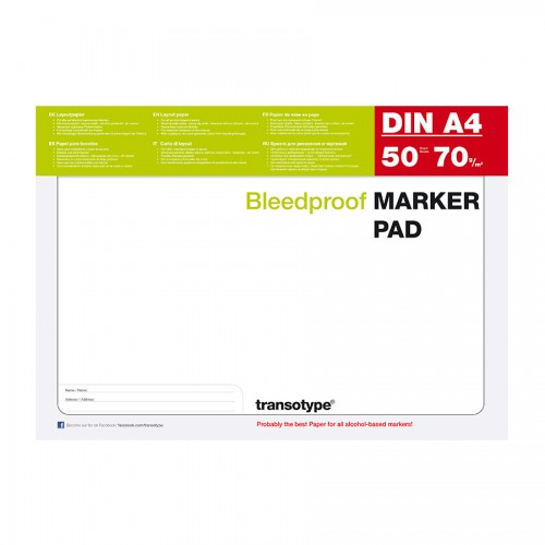 Markerite paberiplokk Copic Marker Pad A4