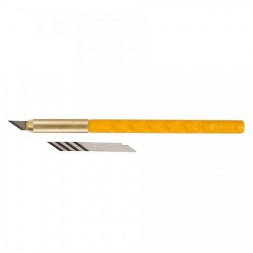 Olfa® Kunstnikunuga Käepidemega + 5 Varutera
