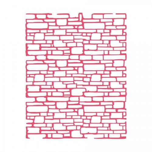Sabloon  20X25Cm/0,2Mm  Bricks Texture
