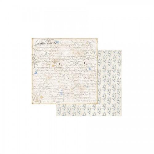 Scrapbookingu Paber 30X30  - Old England Writing