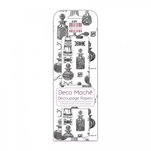 First Edition Fsc Deco Mache  Perfume Bottles