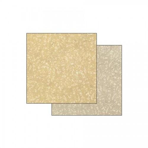 Scrapbookingu Paber 30X30 -  Texture Leaves On Honey Background