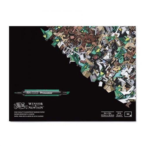 W&N Markerite paberiplokk A4 ,50lh