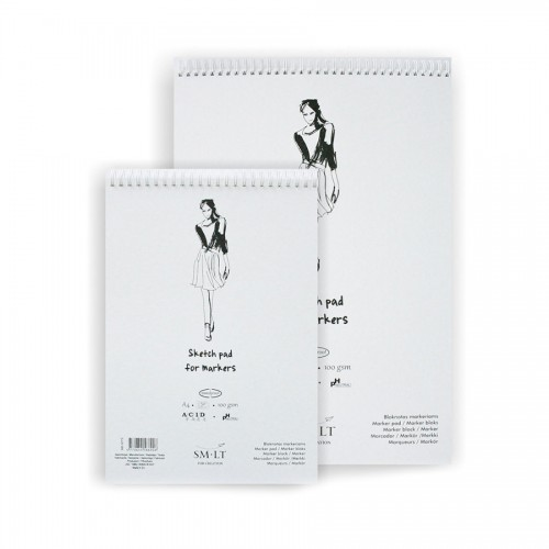Authentic Markerite paberiplokk  ,A3, 50lh,100g/m