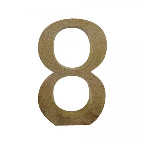 Mdf Number Blank  8