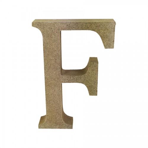 Mdf Letter Blank  F