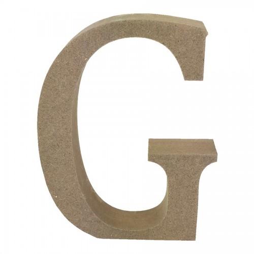 Mdf Letter Blank  G