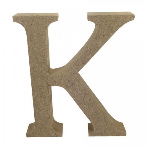Mdf Letter Blank  K