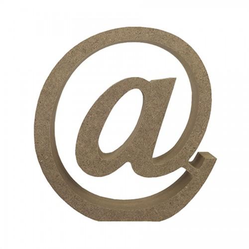 Mdf Letter Blank @